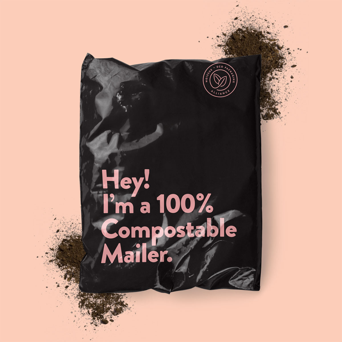 Example of compostable packaging
