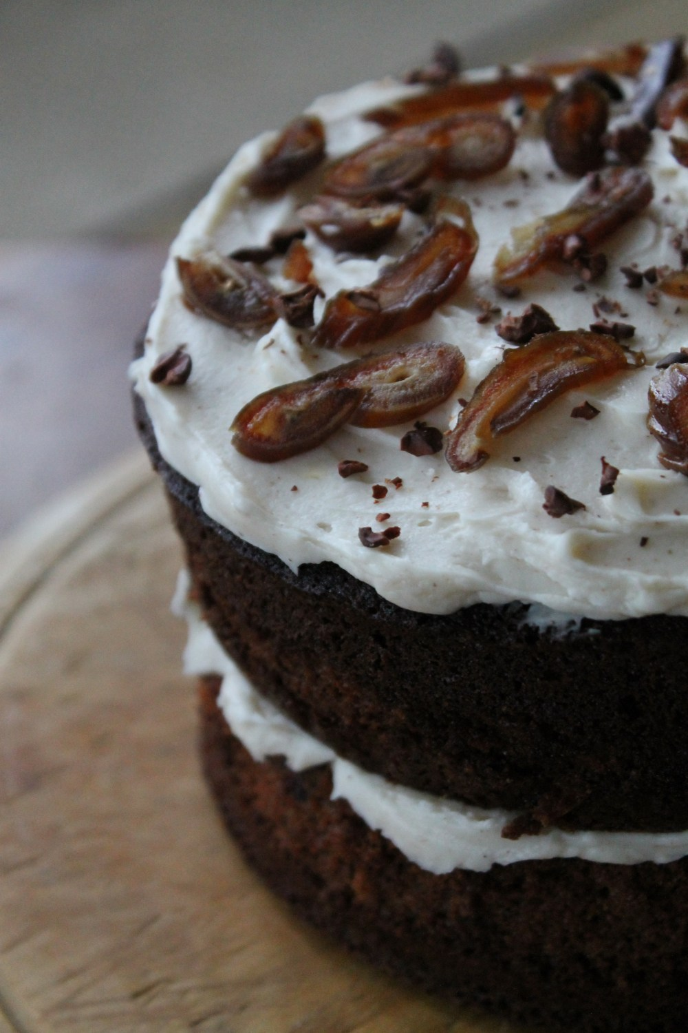 Coffee and Date Drizzle Cake