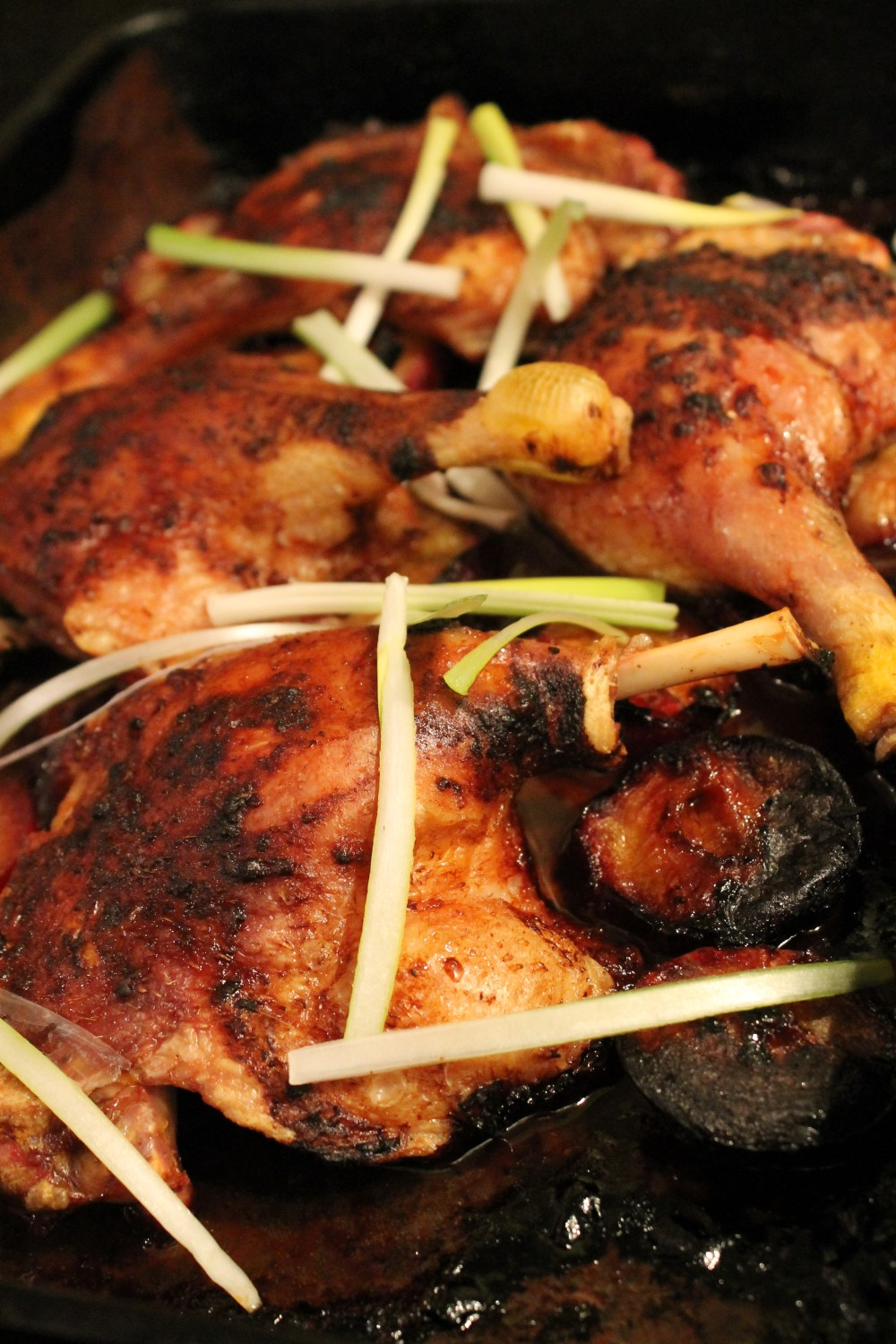 Plum and Five Spice Duck