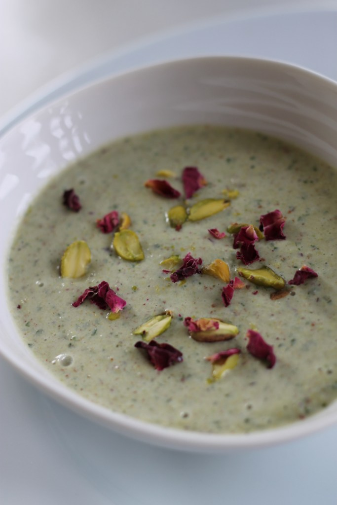 Jess - Iranian pistachio soup