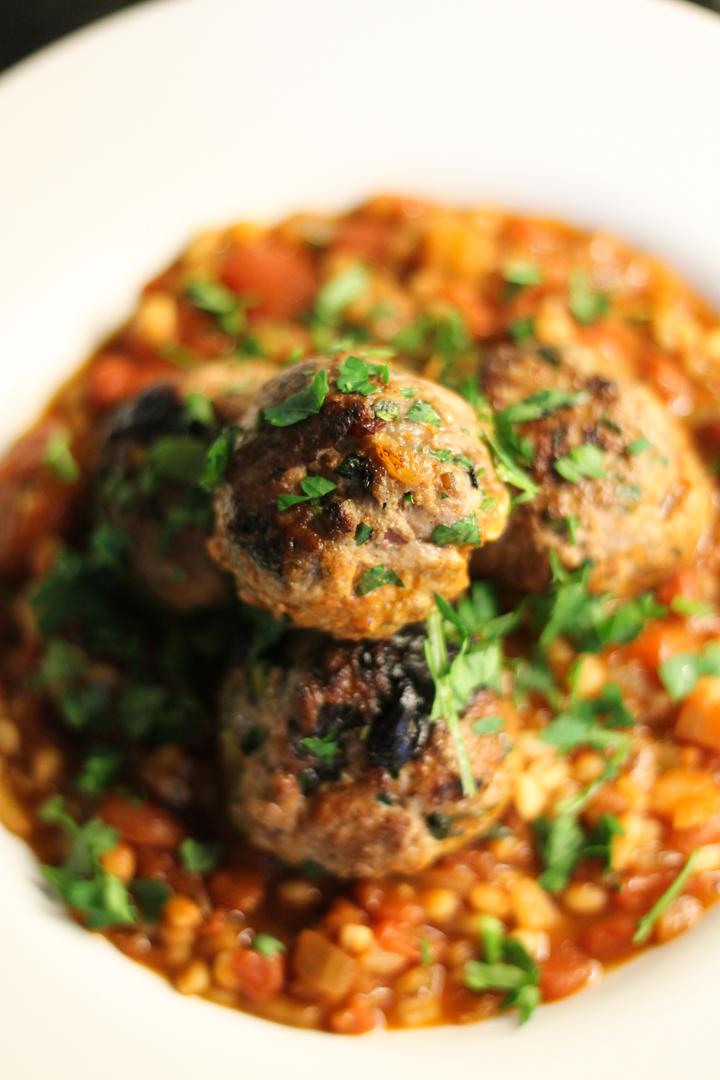 Turkish Spiced Meatballs