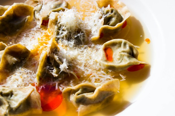 lactarius broth with nettle tortelli (16)
