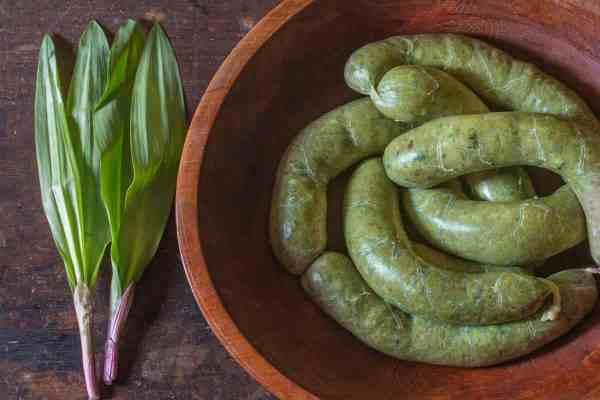 Ramp leaf sausage recipe