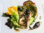 black trumpet mushroom and fish recipe