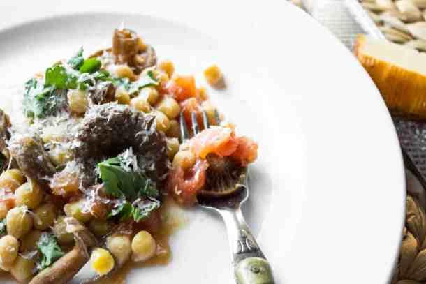 Saffron Milkcap Mushrooms With Tomato and Gran Queso_-2