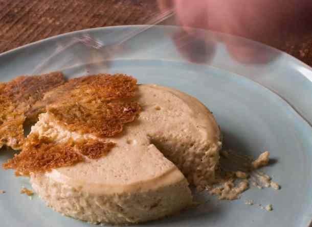 Candy cap mushroom bavarian cream