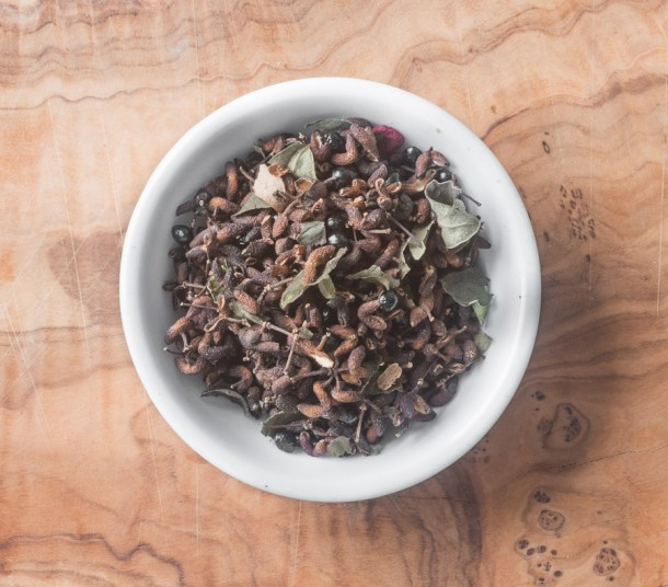 Dried wild szechuan peppercorns, Zanthoxylum or prickly ash berries