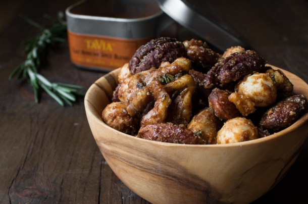 Candied Maple Nuts with Tavia (1)