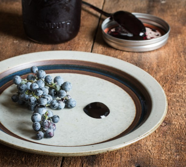 Wild grape reduction recipe