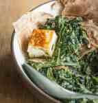 Saag paneer with foraged amaranth recipe