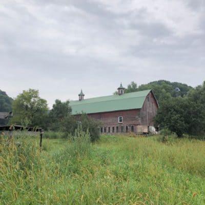 An old Wisconsin barn