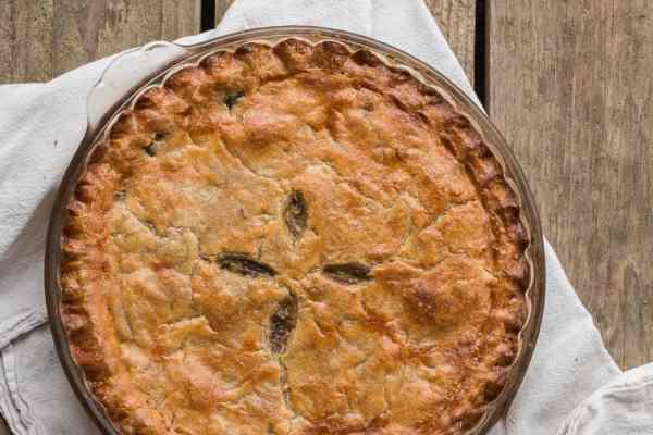 Pigeon or squab pie