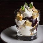 Serviceberry Syllabub with Angelica