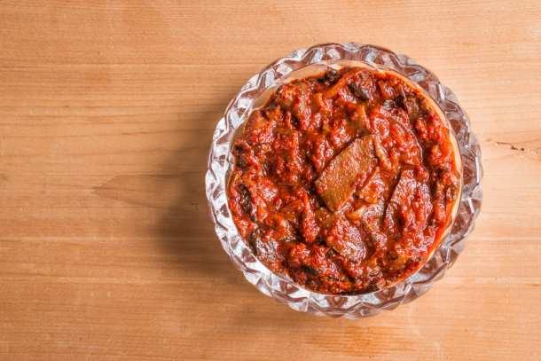 Ischnoderma resinosum or wild mushroom kimchee recipe