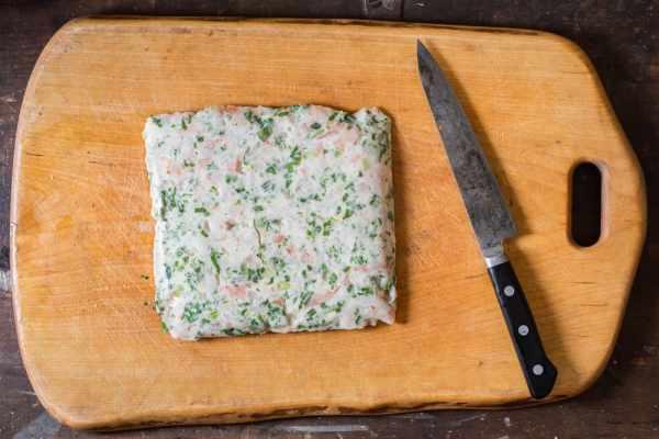Shrimp mousseline sous vide recipe