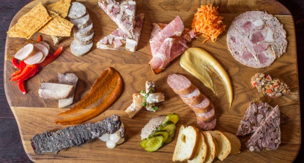 Salt Cellar Charcuterie by Chef Alan Bergo