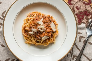 Venison heart bolognese recipe