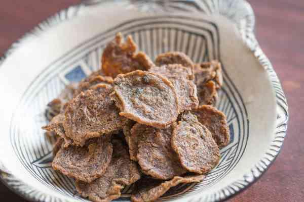 Wild rice flour crackers recipe