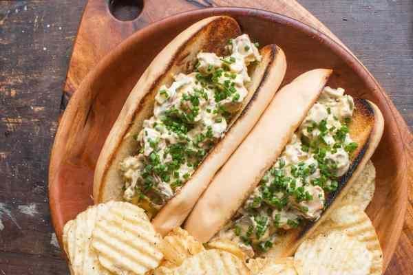 Lobster mushroom rolls recipe
