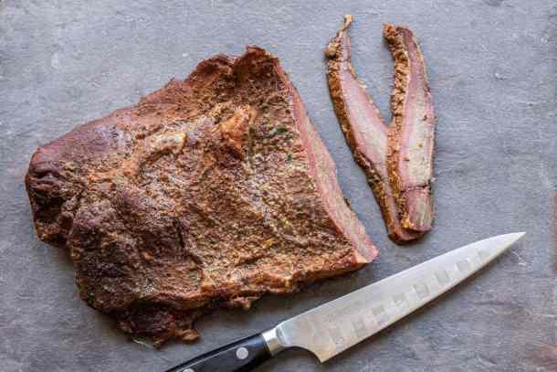 Smoked venison brisket recipe