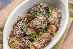 Crab Stuffed Dried Morel Mushrooms Recipe_-7