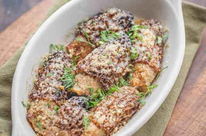 Crab Stuffed Dried Morel Mushrooms Recipe_-7