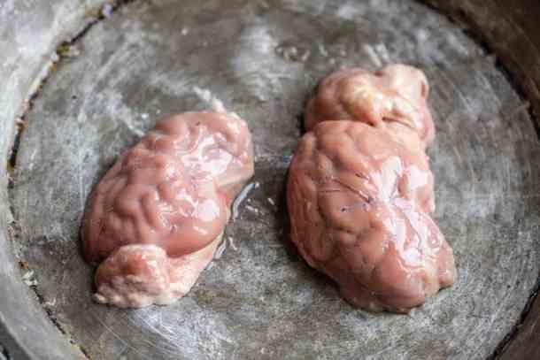 Lamb brains