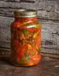 Hosta Shoot Kimchi