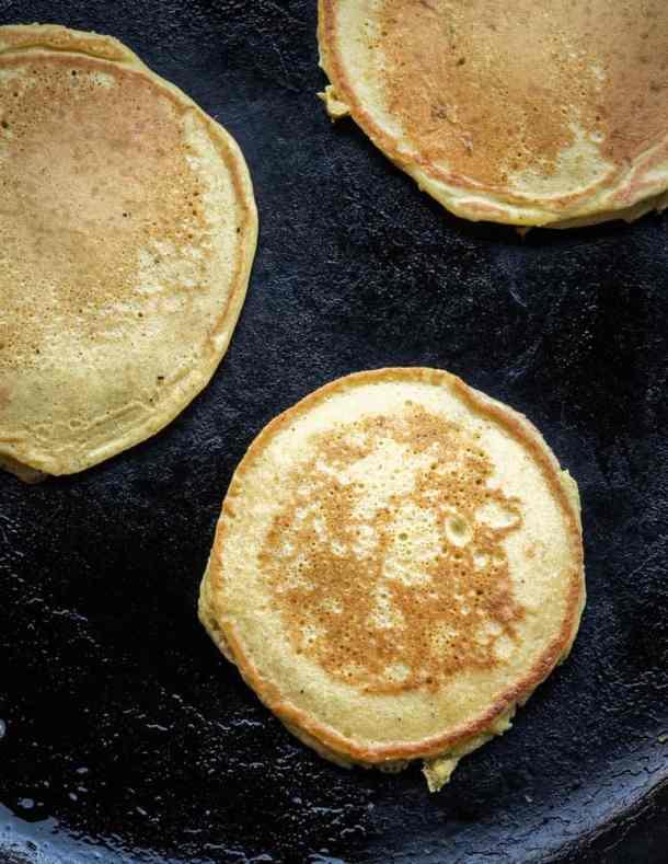 Pine pollen pancakes recipe