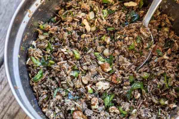 Wild Rice Mushroom Dolmas Recipe
