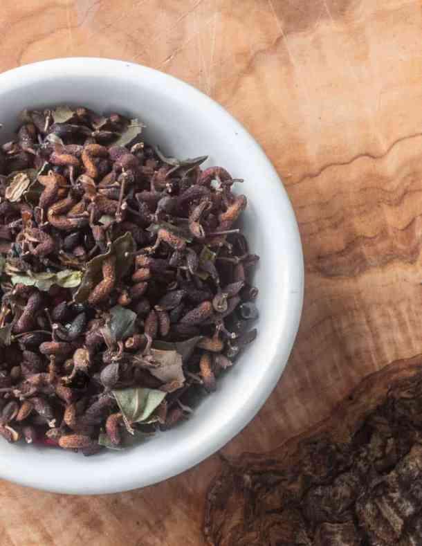 Wild Szechuan Peppercorns or Zanthoxylum Berries
