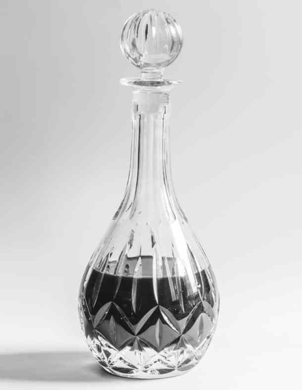 Italian nocino, the black walnut liquor