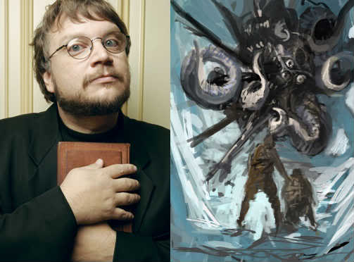 "For years, Guillermo Del Toro has tried and failed to adapt the late-era mythos story, ""At the Mountains of Madness."" source: geekscape.com"