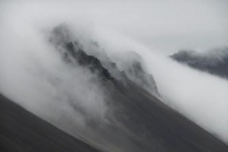 Mists along the south coast of Iceland