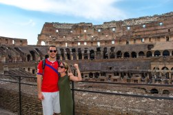 Colosseum: Reminding Jared who the real gladiator around here is.