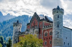 Neuschwanstein Castle- Castle is Disney Land is replicated after this one.
