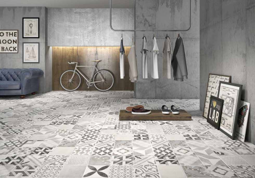Tiles Kitchen Wall Patterned