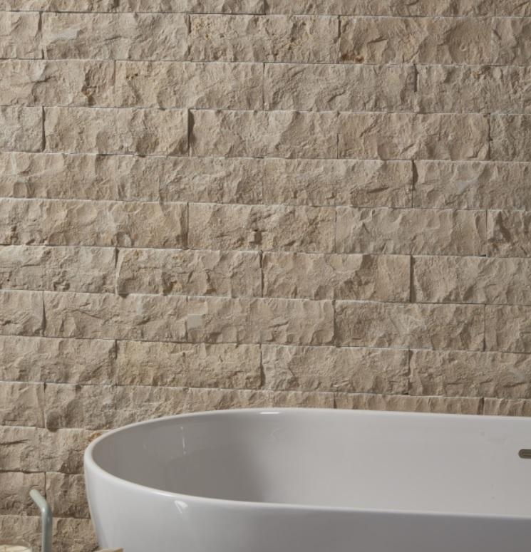 hamlet limestone rock face brick wall cladding foras natural stone