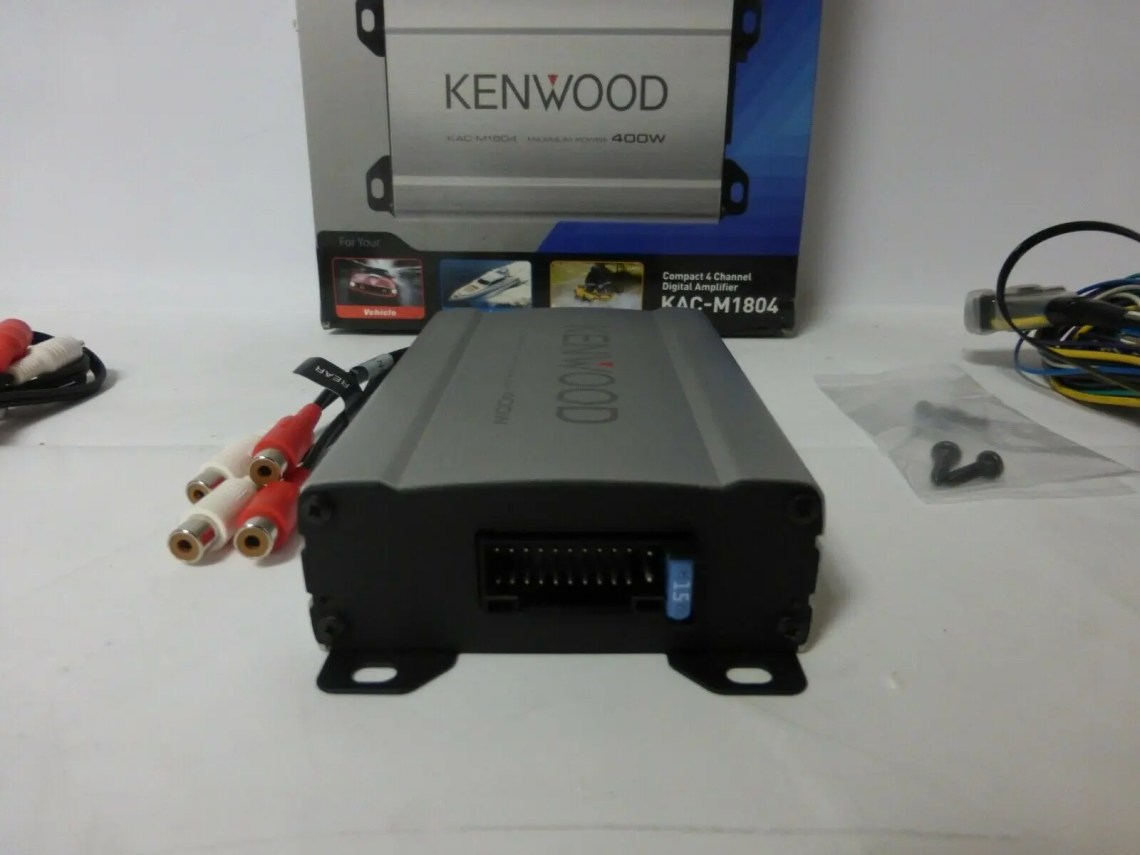 Kenwood KAC-M1804 Review