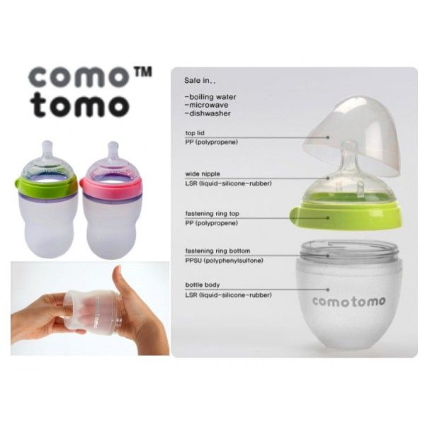 Baby Comotomo Bottle Review