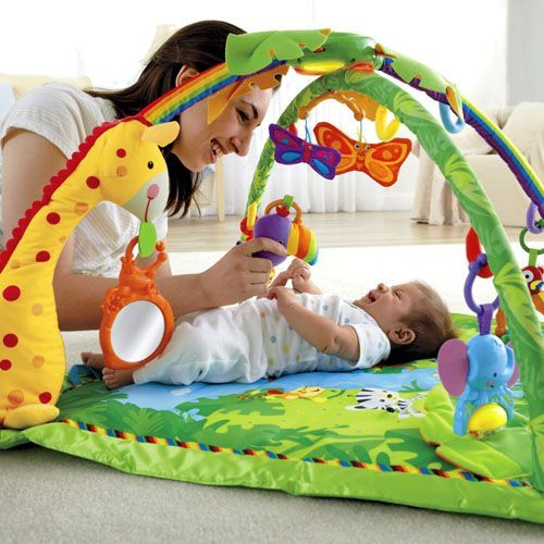 The Fisher-Price Rainforest Deluxe Gym