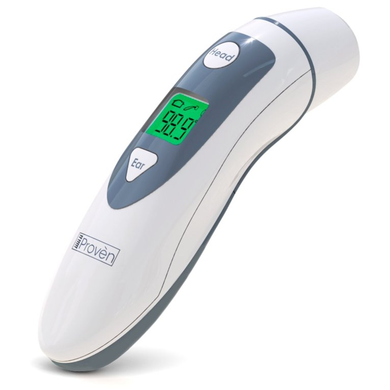 Medical Forehead and Ear Thermometer - the Authentic FDA Approved Professional Thermometer iProven DMT-489 - Unmatched Performance with Revolutionized Technology...