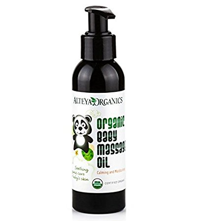Organic Baby Massage Oil - 100ml