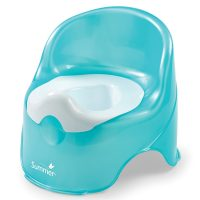 Summer Infant Lil' Loo Potty, Teal and White