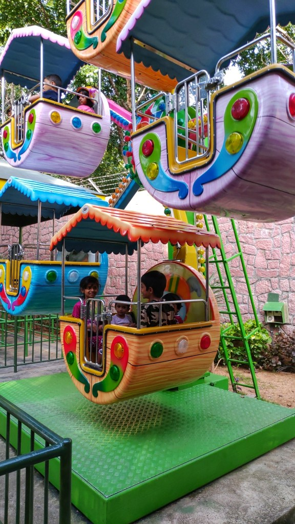 Wonderla Mini Venice ride
