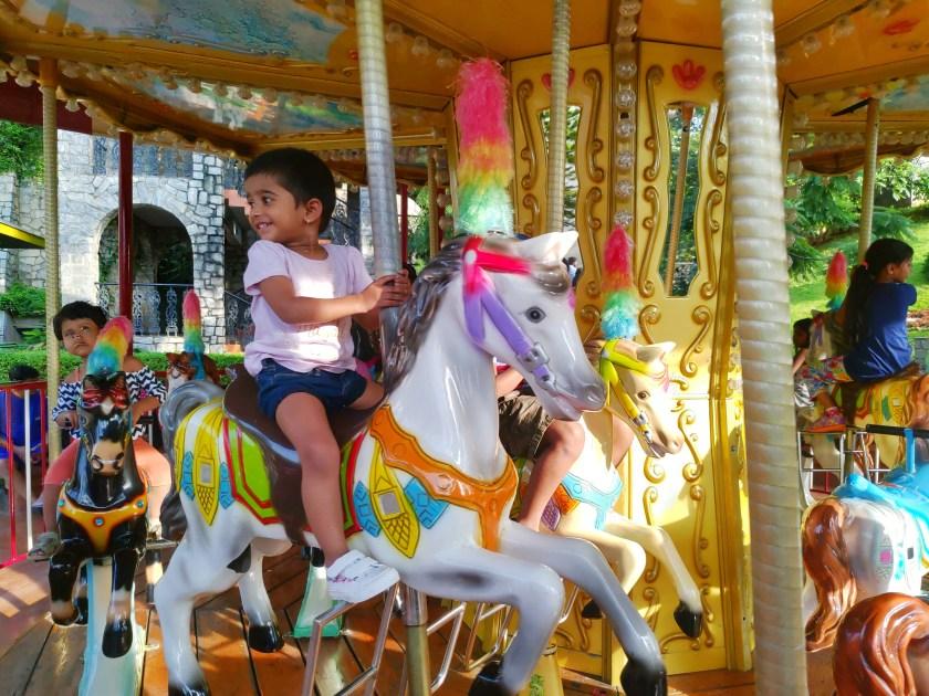 Wonderla carousel