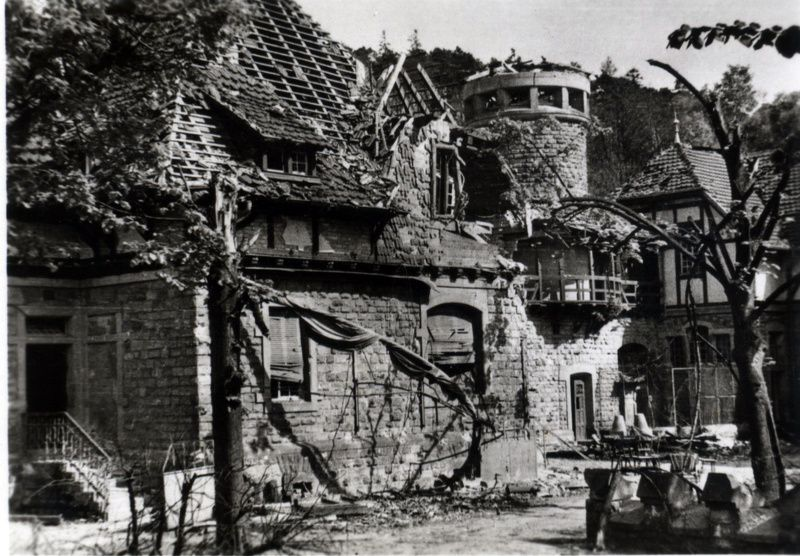 la guerre-Bürghof