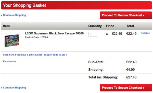 Lego Toys.ie with Shipping