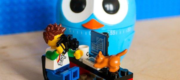 Forbairt Lego Man