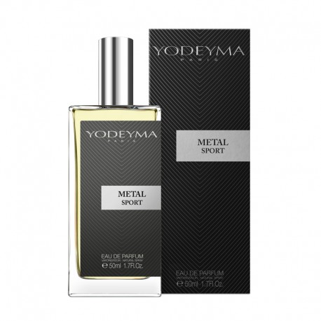 METAL SPORT Apa de parfum 50 ml by YODEYMA - note chypre-citrice